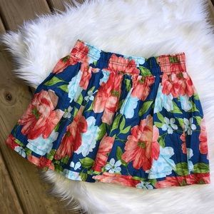 Hollister Floral Skirt Small